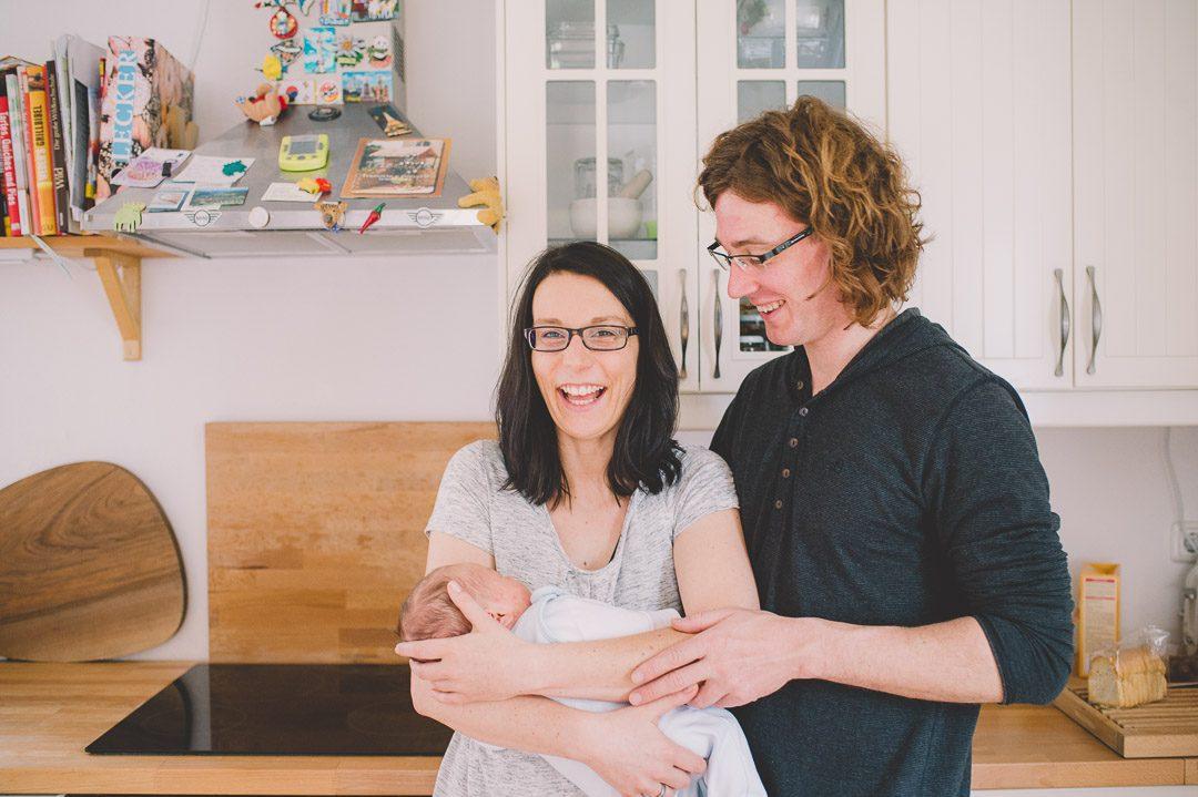 Babyfotos zuhause in Dinkelscherben