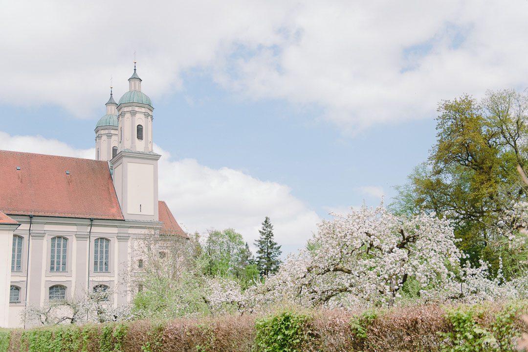 Frühling in Kloster Holzen Allmannshofen