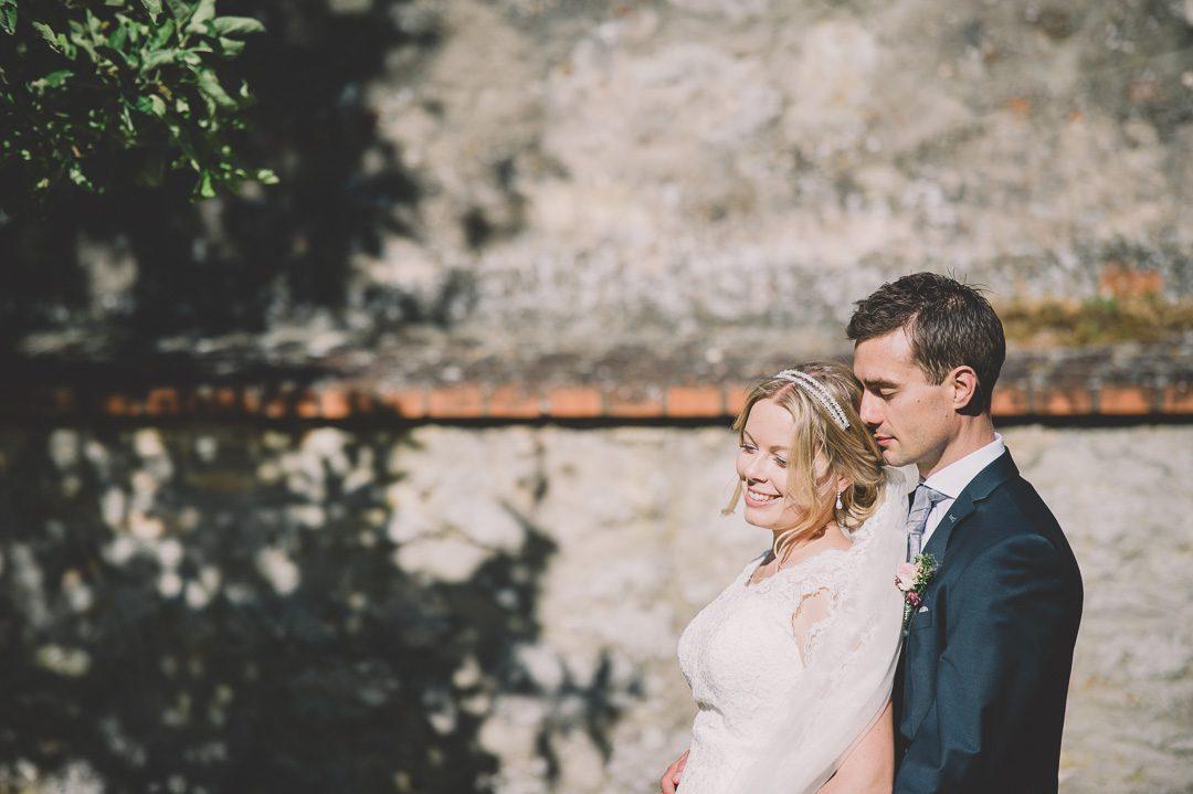 Gelungene Hochzeitsfotos in der Sonne