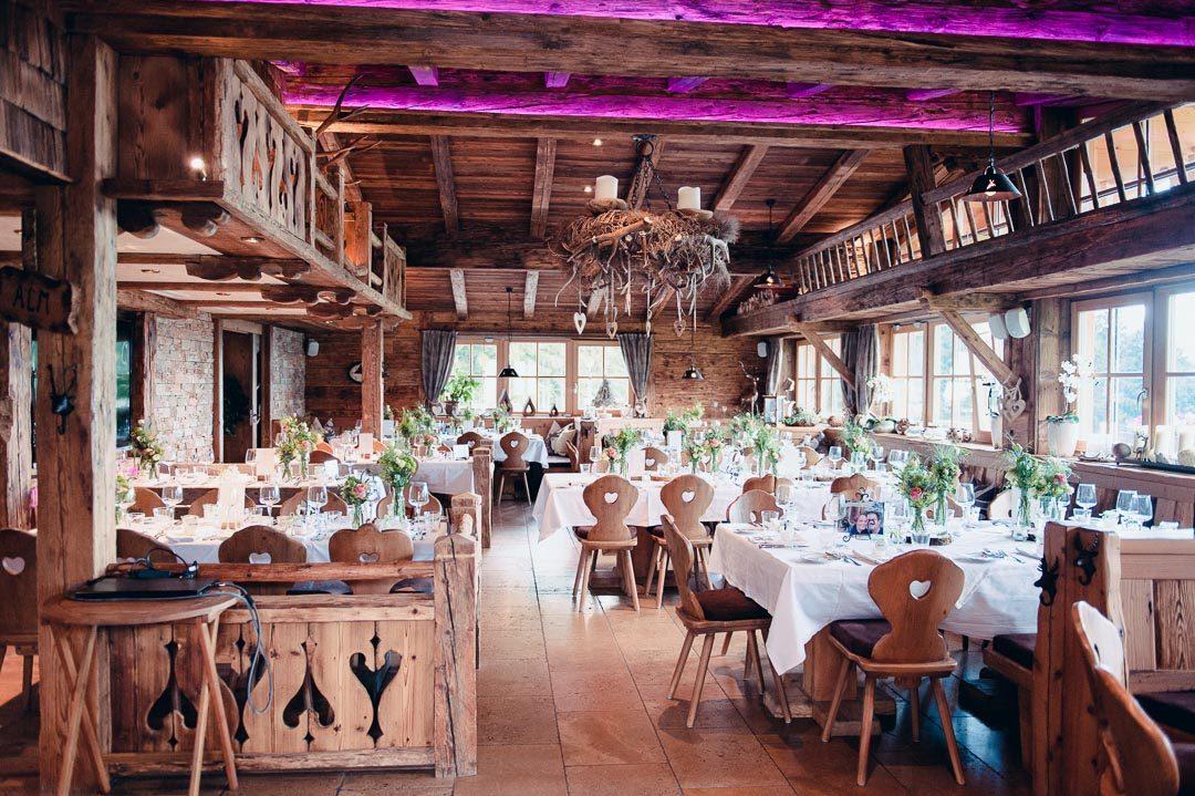 Gaststube Restaurant Jufenalm Maria Alm