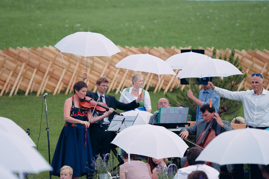 Jufenalm Maria Alm Hochzeit im Freien