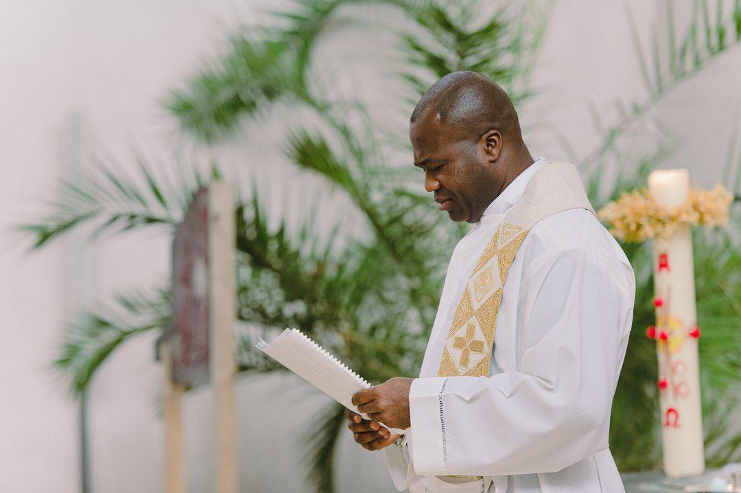 Pfarrer bei Tauf in Haunstetten