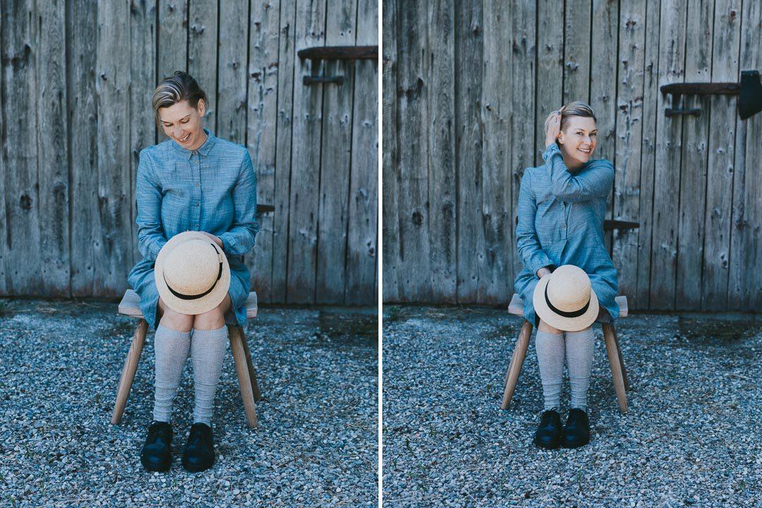 Fotoshooting Melanie Wirth