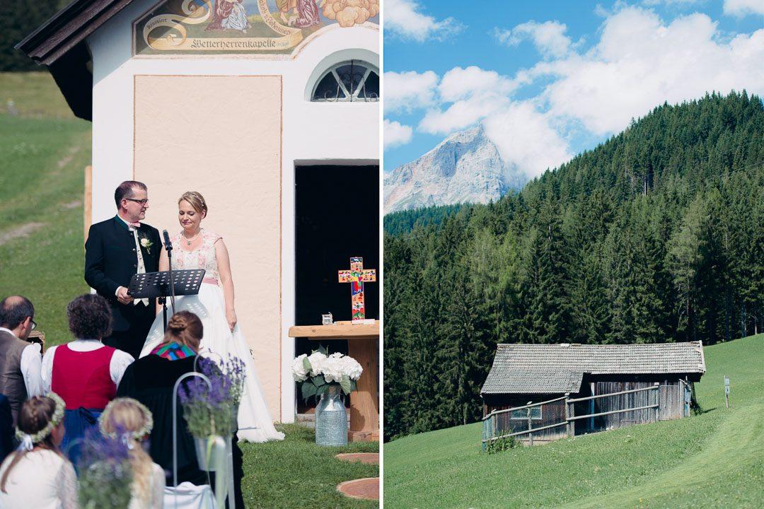 Jufenalm Maria Alm Hochzeit Kapelle
