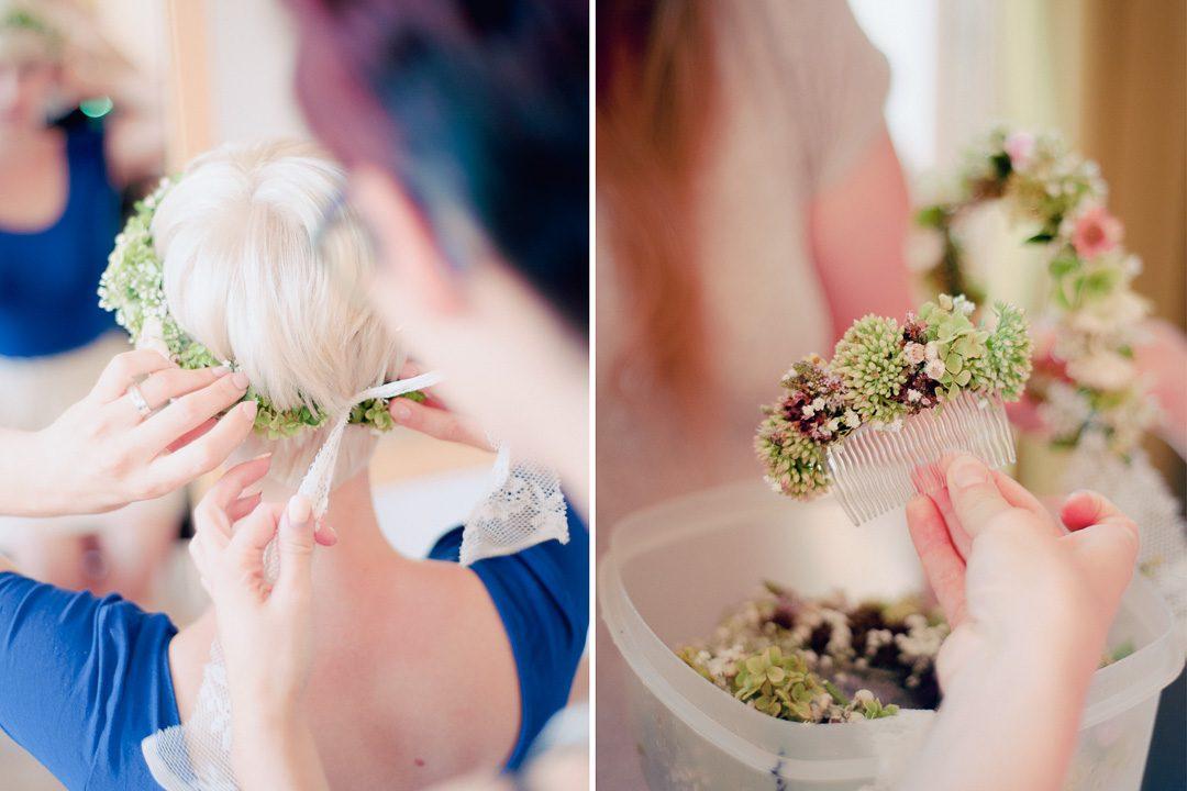 Fotos von Blumenschmuck Hochzeit