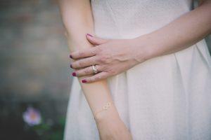 Tiffany Armband Infinity Eternity Hochzeitsfoto
