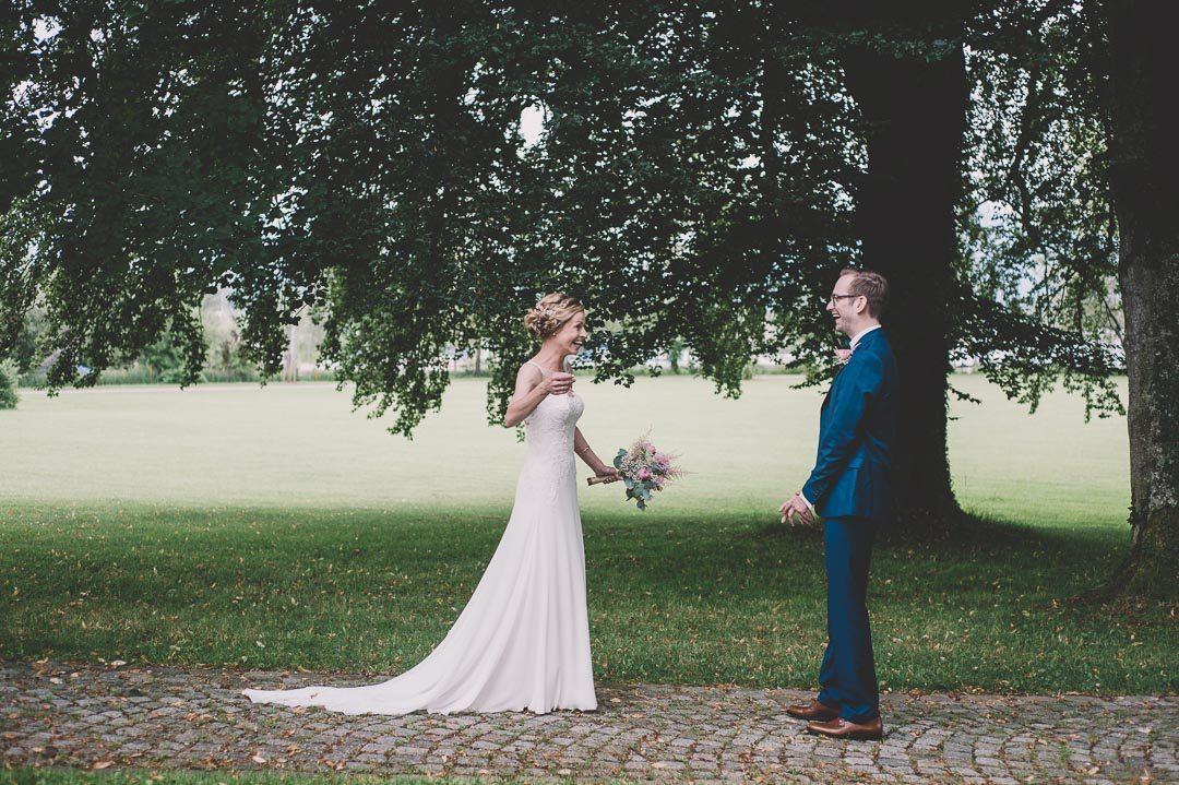 Bester Hochzeitsfotograf für First Look