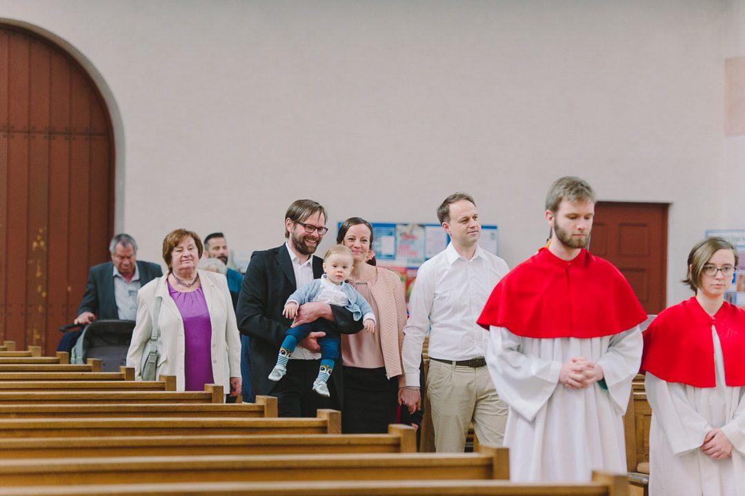 Taufe Feier in der Kirche