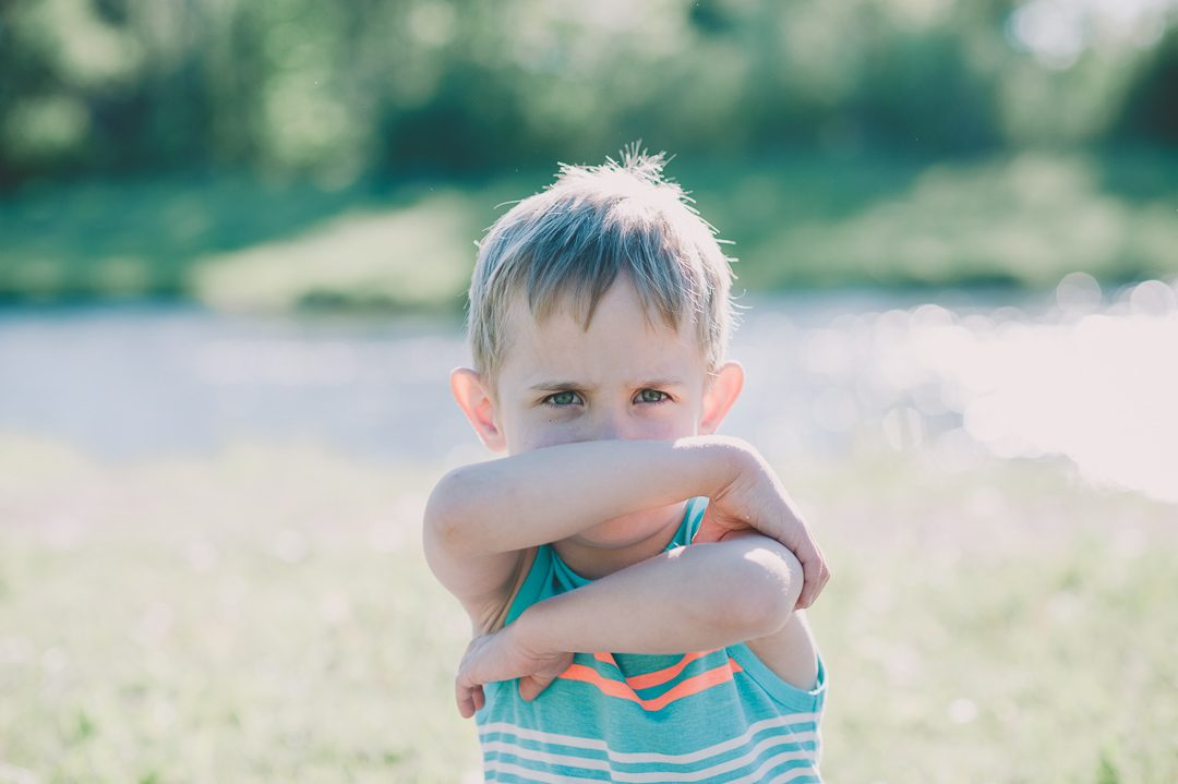 Kind verweigert Kinderfoto