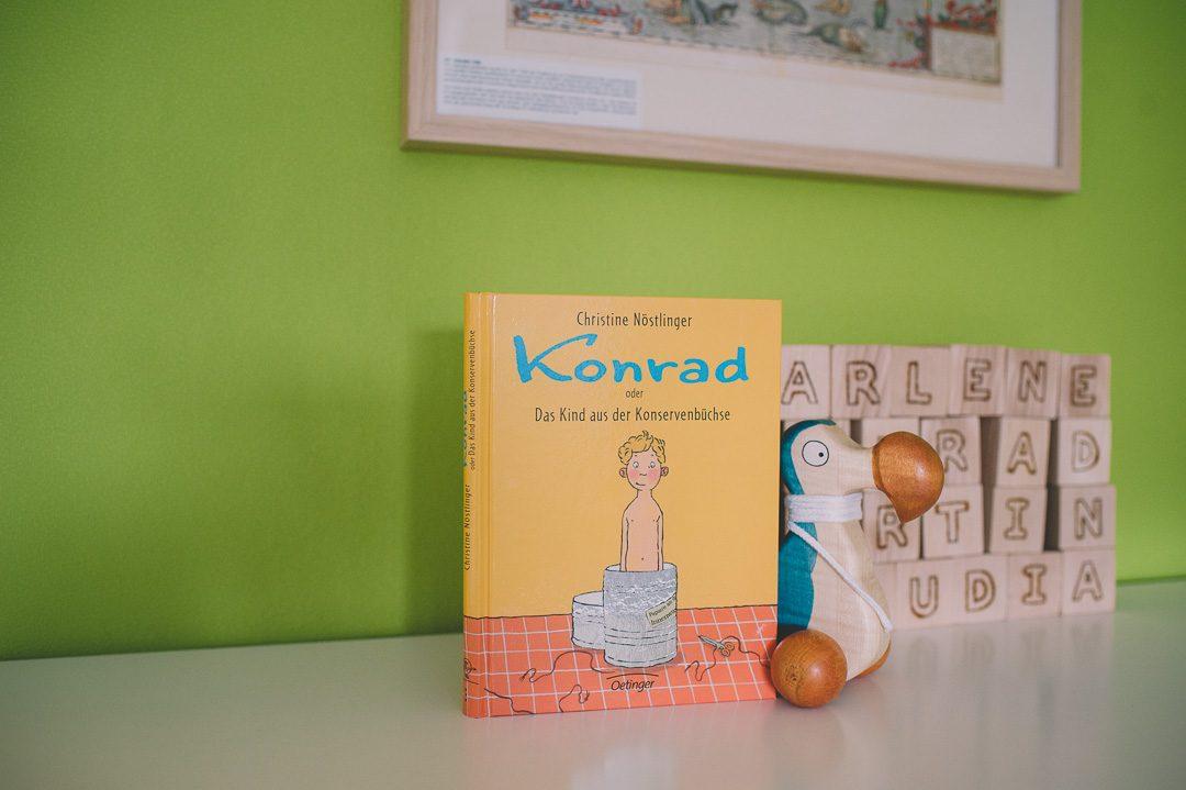Christine Nöstlinger Kinderbuch Konrad oder Das Kind aus der Konservenbüchse