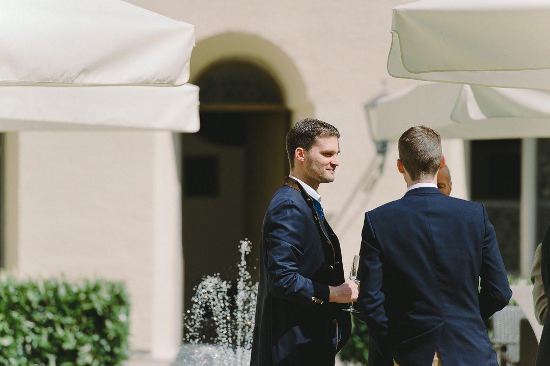 Hochzeitsempfang in Kloster Holzen Allmannshofen