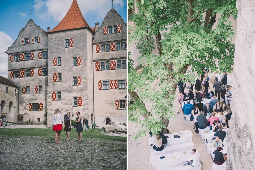 Schloss zum Heiraten Harburg