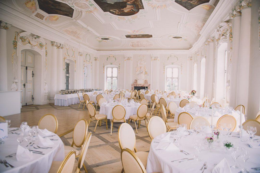 Fürstensaal Schloss Harburg