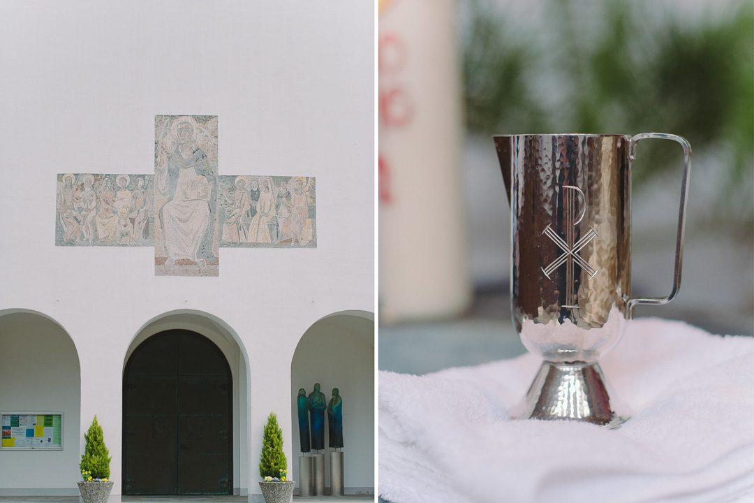 Taufe in der Kirche Familienfotograf