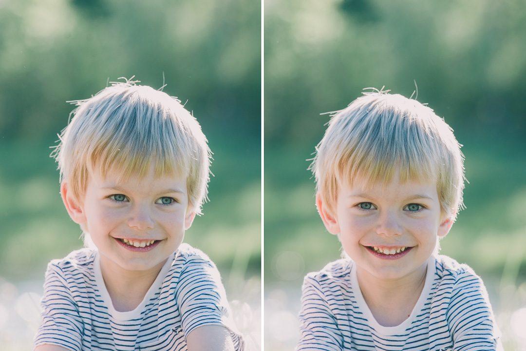 Glückliche Familienfotos und Kinderbilder