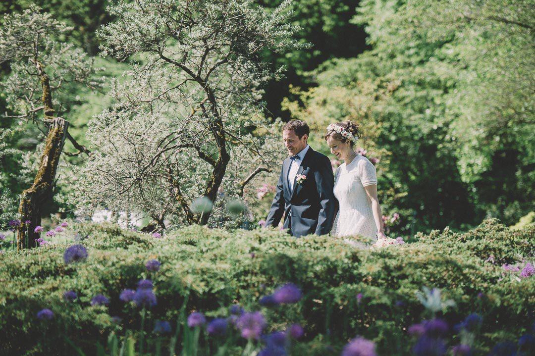 Hochzeit im Mai Botanischer Garten Augsburg