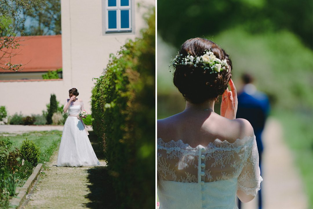 Hochzeitsreportage mit First Look von Petsy Fink