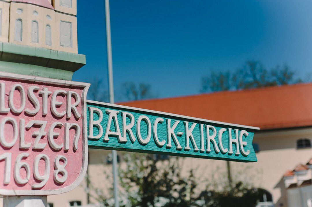 Kloster Holzen Allmannshofen ist eine Barockkirche