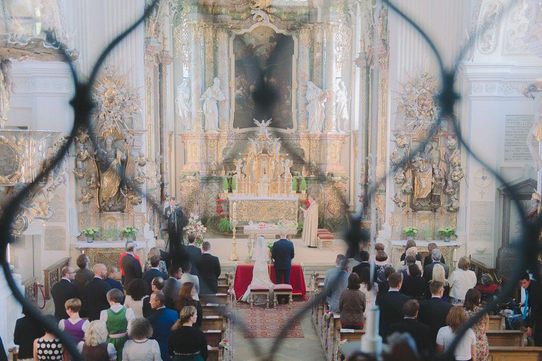 Hochzeit in der Barockkirche Kloster Holzen Allmannshofen