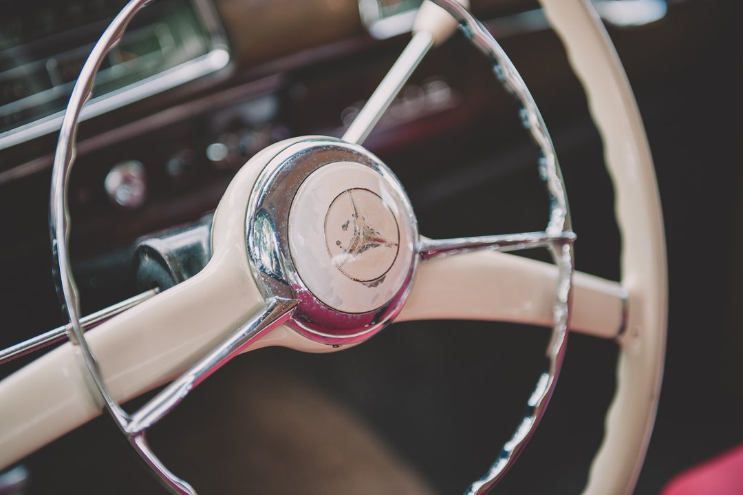 Lenkrad Oldtimer Mercedes