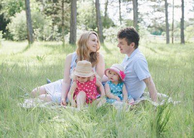 Fotoclations für Familienfotos in Augsburg