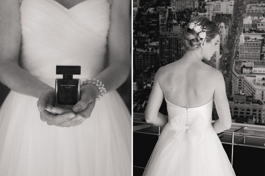 Bustier Hochzeitskleid