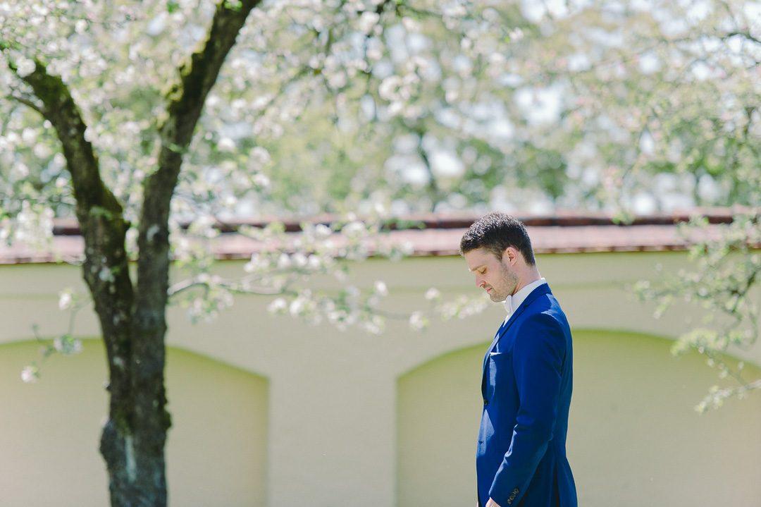First Look Portraits bei Hochzeitsfotos