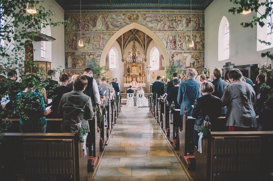 Innenansicht Herz Jesu Kirche Harburg