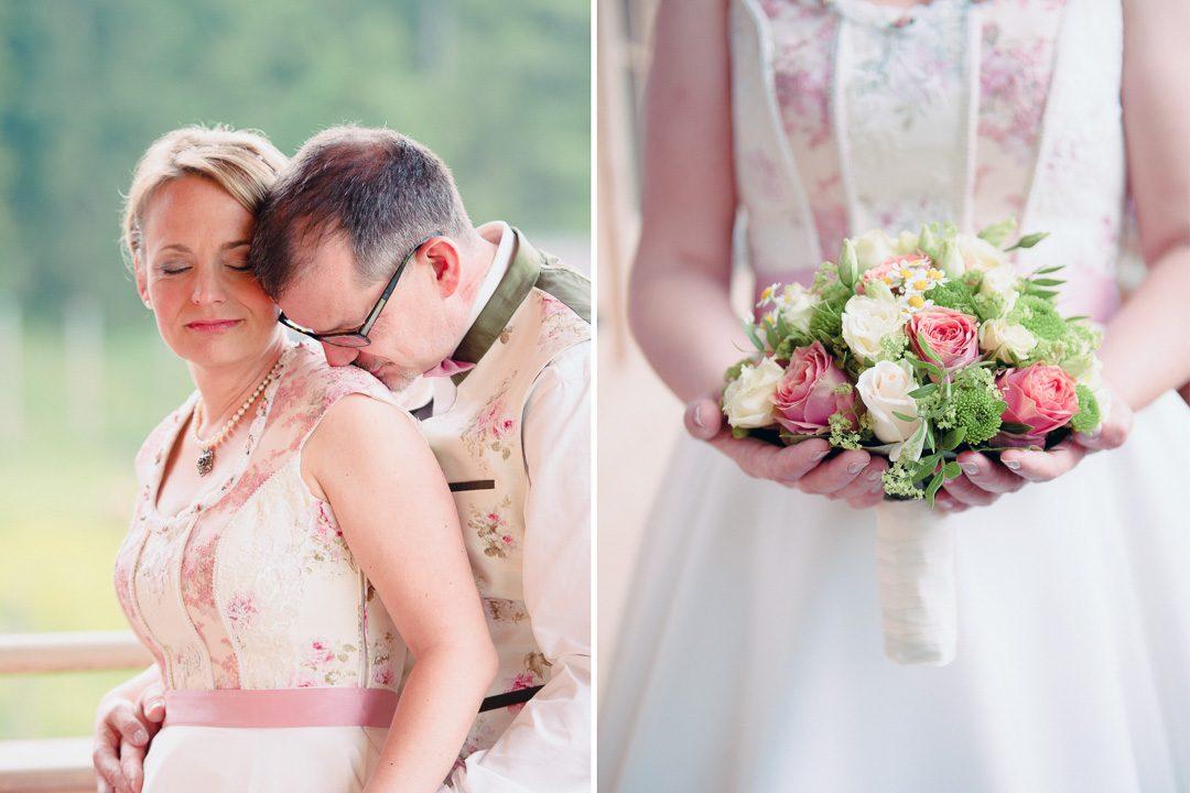 Hochzeitskleid Hochzeitsdirndl von Tian Van Tastique München