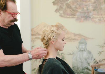 Salon Valentino Friseur Augsburg Brautfrisur