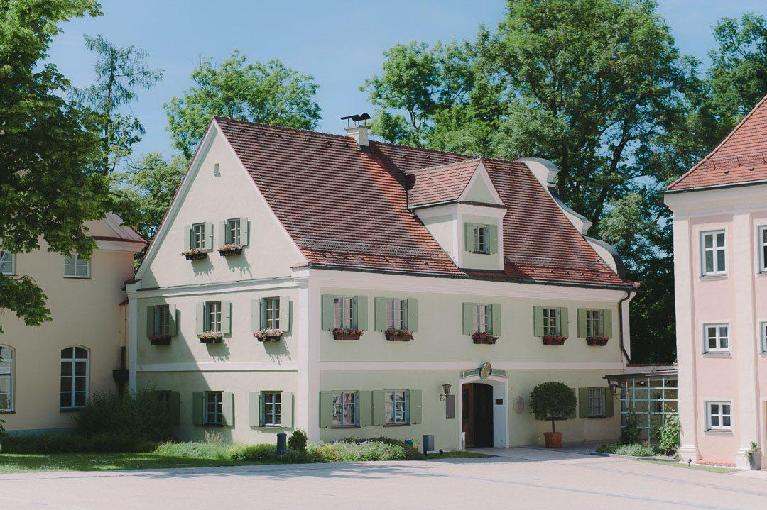 Kloster Holzen Allmannshofen Klostergasthof