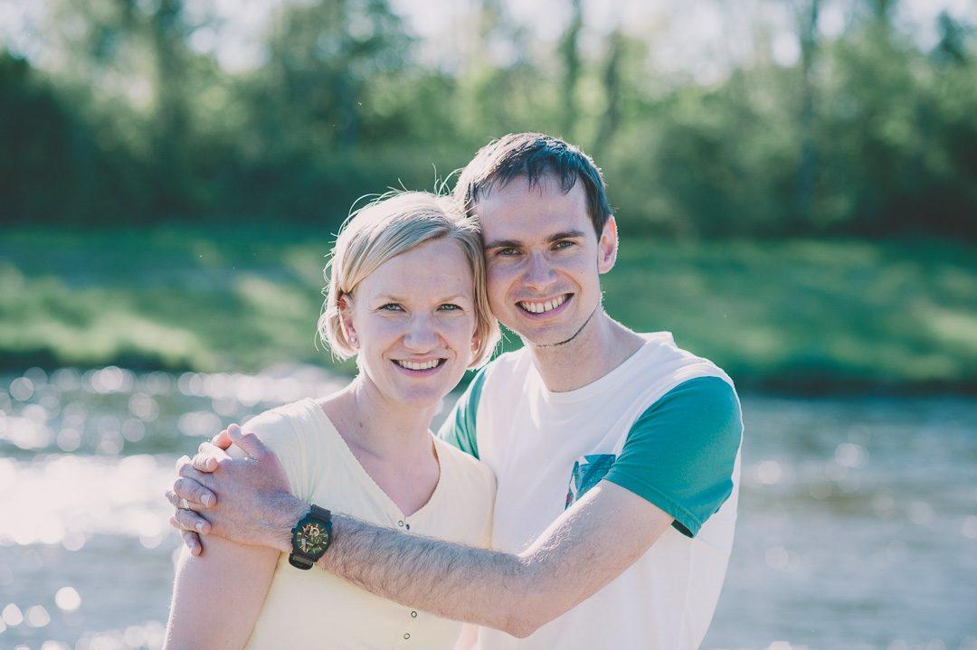 Paarportrait von Eltern