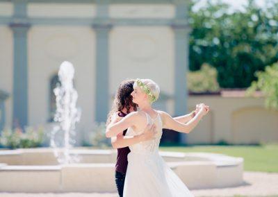 Hochzeitsfoto Augsburg von Hochzeitswalzer