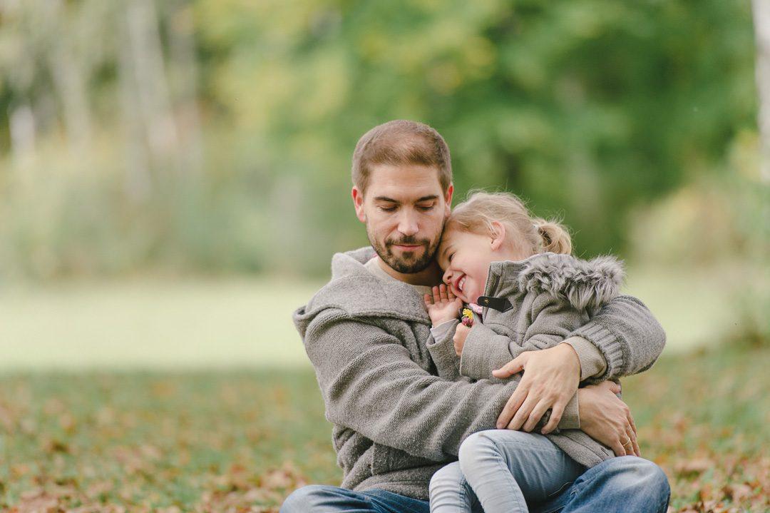 Familien Fotos im Herbst