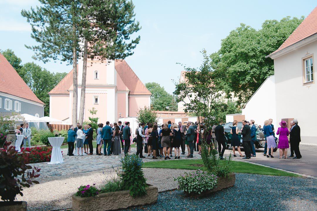 Hochzeit feiern auf Schloss Illereichen