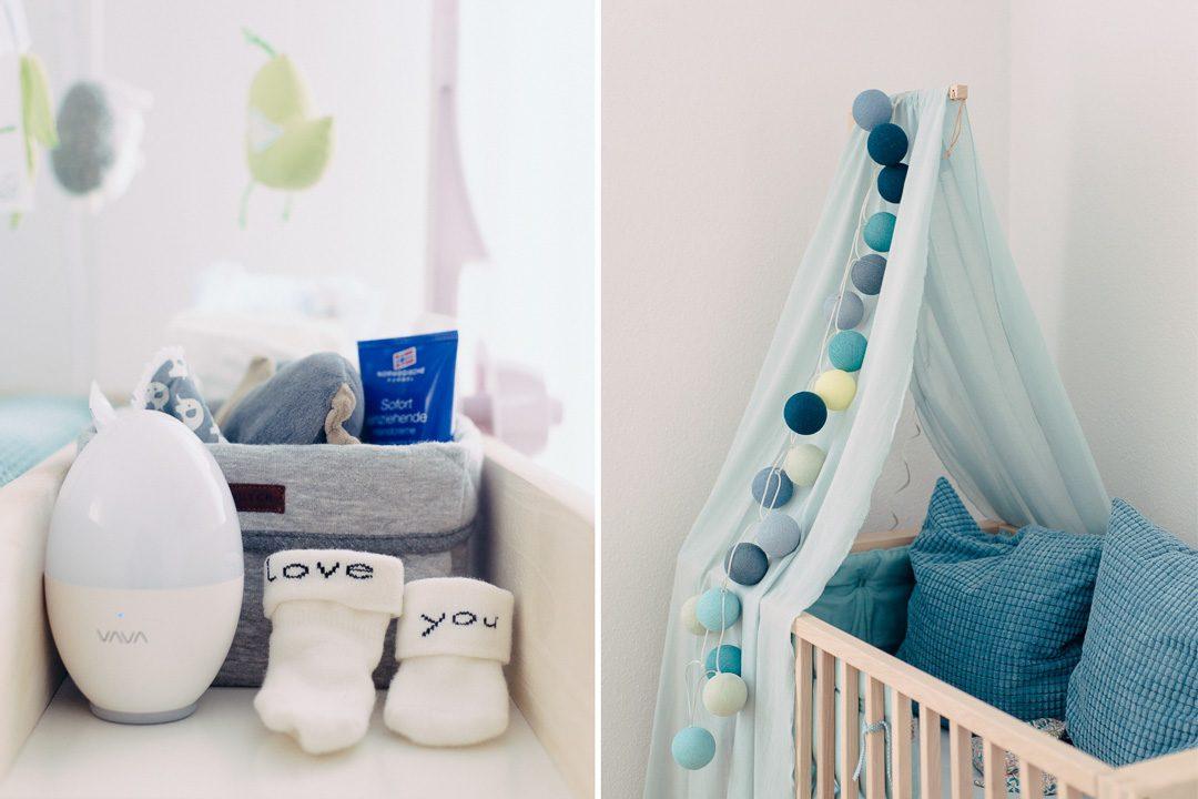 Kinderzimmer für Junge in blau