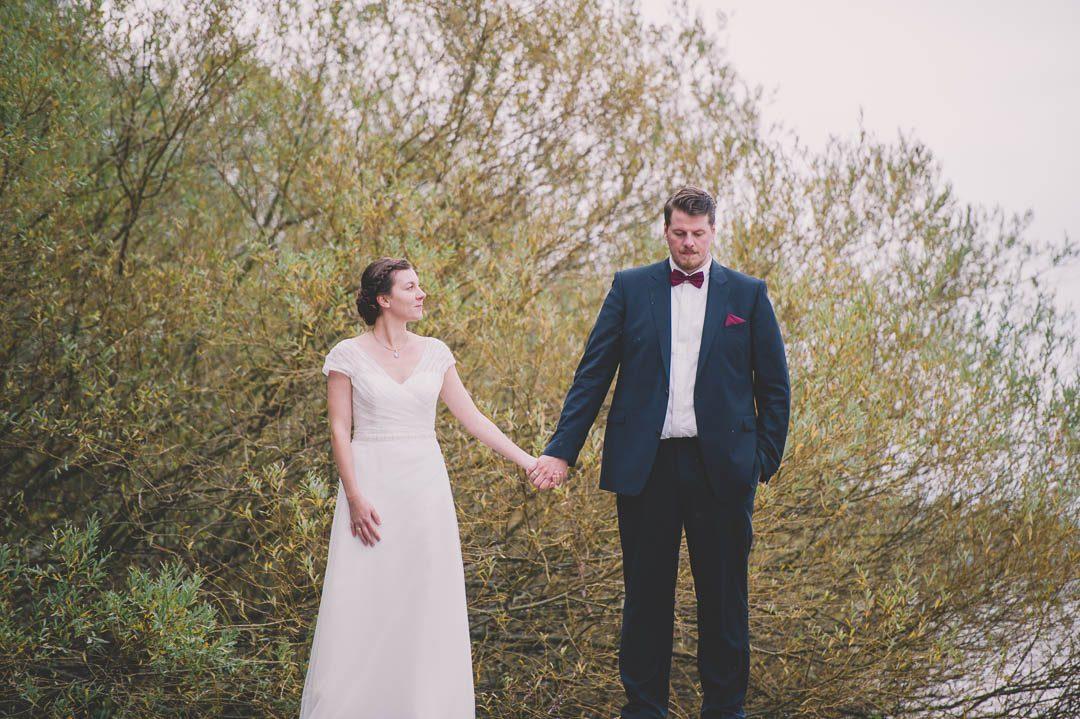 Moderne Braut in La Promesse Königsbrunn