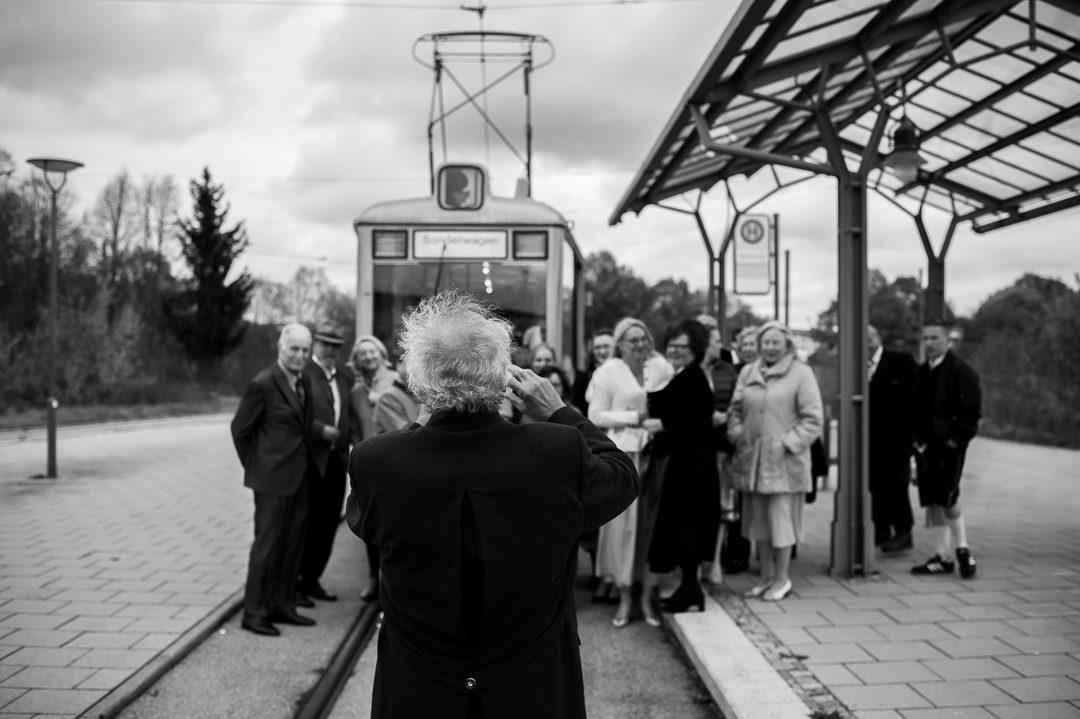 Familienfoto bei Hochzeit in Augsburg