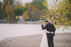 Hochzeitspaar in Stegen am Ammersee