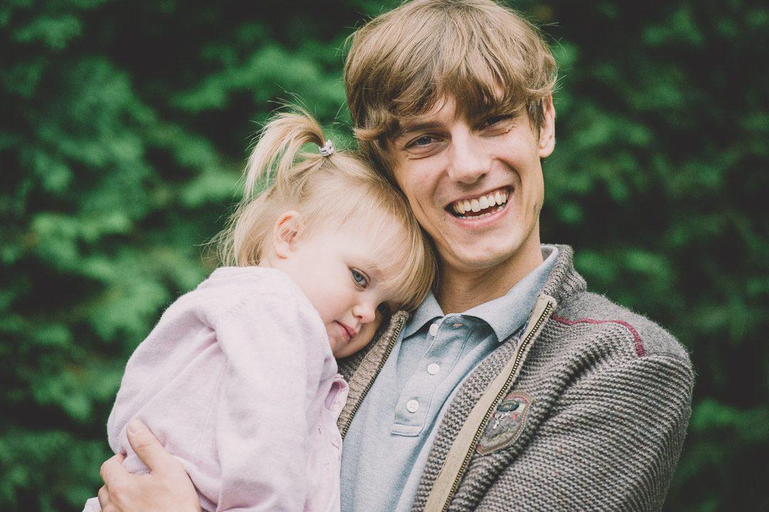 Rosa Strickjack für Zweijähriges Mädchen