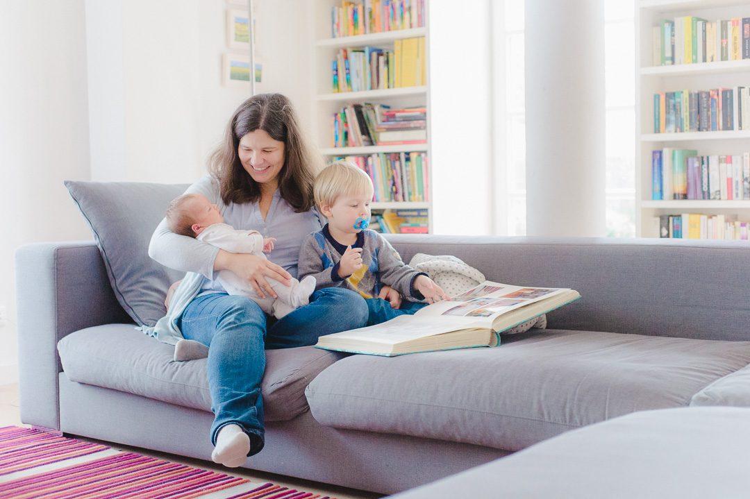 Babybilder mit Mama und Bruder Augsburg