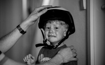 Kinder weinen beim Fotoshooting