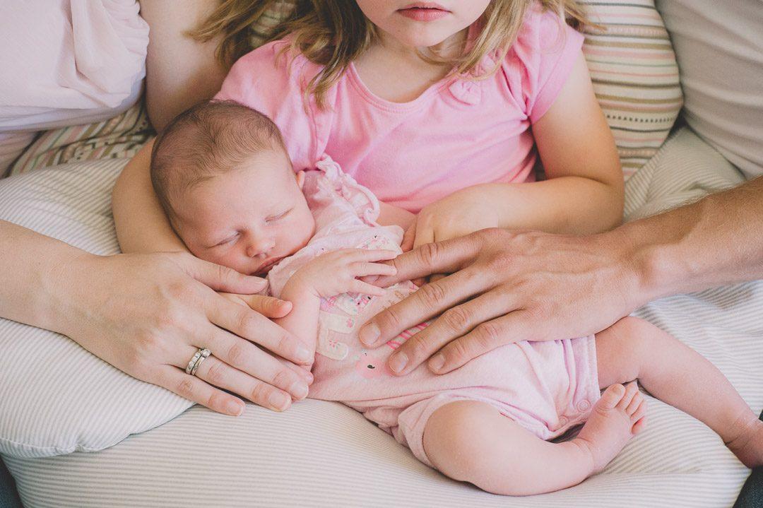 Babyfoto Babybild Mädchen