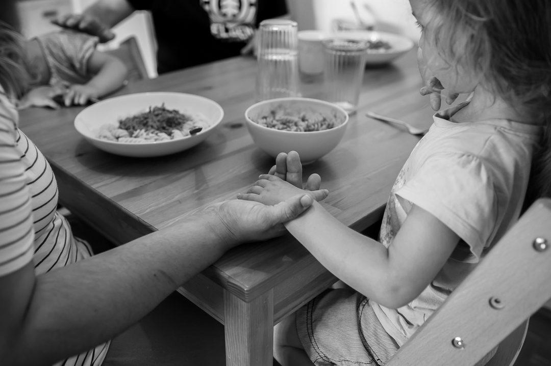 Abendbrot Tischgebet Familie