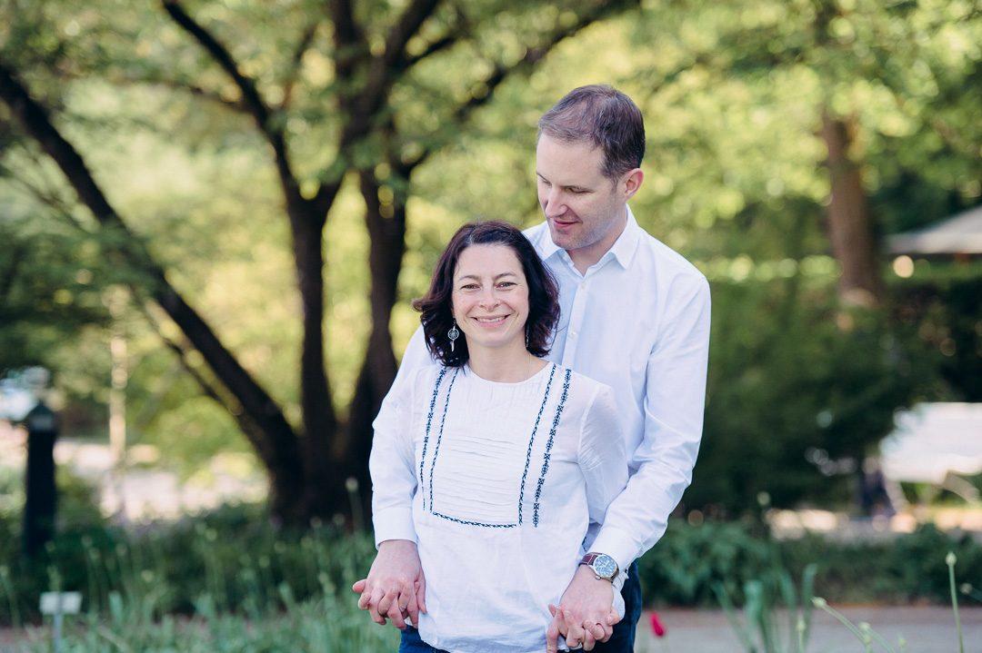 Paarfoto von Ehepaar in Augsburg