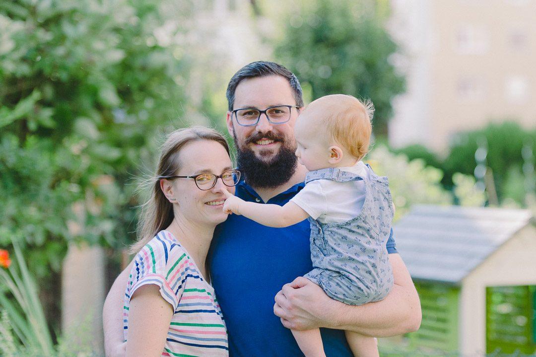 Happy Family in Augsburg