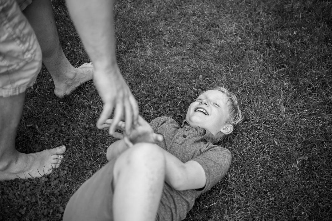 Dokumentarische Familienfotografie München