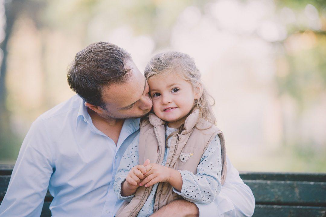 Vater und Tochter Foto von Petsy Fink