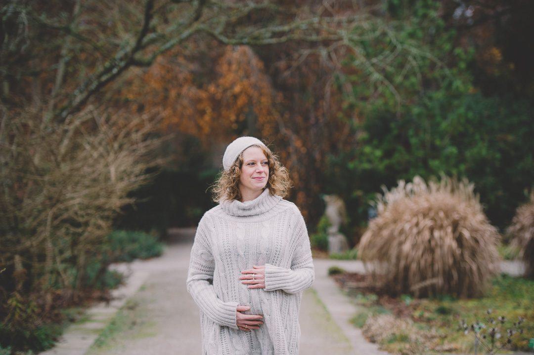 Outfit Winter Schwangerschaftsbilder