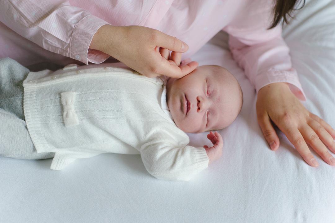 Strickweste Baby Mädchen